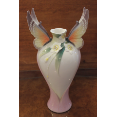 DiBella Flowers & Gifts Las Vegas - Franz Papillion Butterfly Vase - Limited Edition