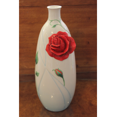 DiBella Flowers & Gifts Las Vegas - Franz Red Rose Vase - Limited Edition