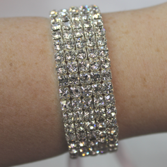 DiBella Flowers & Gifts Las Vegas - Diamond Bling Wristlet to accent your corsage! Can be later used as a bracelet.