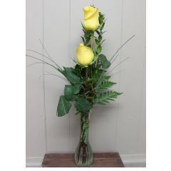 DiBella Flowers & Gifts Las Vegas - Double Rose Budvase