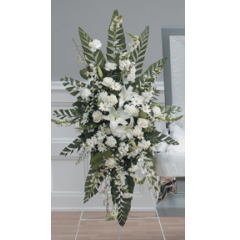 DiBella Flowers & Gifts Las Vegas - White Standing Spray CTT2-11
