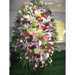 DiBella Flowers & Gifts Las Vegas - Custom Standing Sprays-  We can design a standing piece to fit your need perfectly. Call for pricing and details.