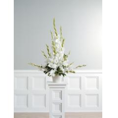 DiBella Flowers & Gifts Las Vegas - Gladiolus Pedestal Arrangement CTT 5-11