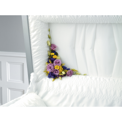 DiBella Flowers & Gifts Las Vegas - Purple Garden Lid Piece CTT 56-11