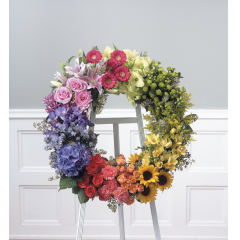 DiBella Flowers & Gifts Las Vegas - Splash of Color Standing Spray CTT 83-11