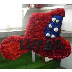 DiBella Flowers & Gifts Las Vegas - Custom Funeral Pieces - Shapes