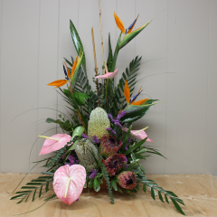 DiBella Flowers & Gifts Las Vegas - Custom Tropical Arrangements