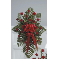 DiBella Flowers & Gifts Las Vegas - Red Rose Standing Spray CTT18-11