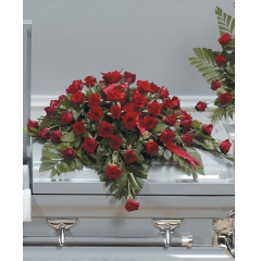 DiBella Flowers & Gifts Las Vegas - Red Rose Casket Spray CTT19-11