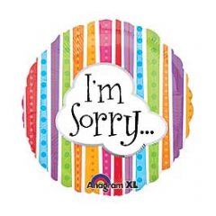 DiBella Flowers & Gifts Las Vegas - I'm Sorry Mylar 17 inch