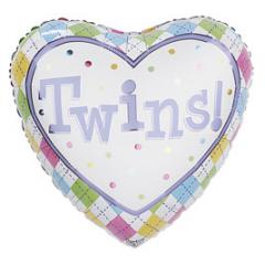 Twins Mylar 17 inch