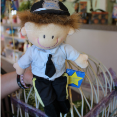 Police Officer Plush Make a Wish Foundation Dolls