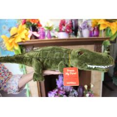 "See ya Later Alligator Singing Animal Press his foot and he animatedly sings ""See Ya Later Alligator"""