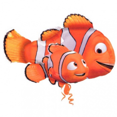 DiBella Flowers & Gifts Las Vegas - Finding Nemo SuperShaper Foil Balloon 30 inch Mylar balloon featuring Nemo and Marlin!