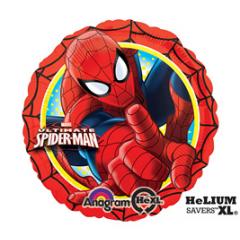 Spiderman Mylar Balloon Featuring Marvels Ultimate Spiderman