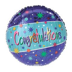 "DiBella Flowers & Gifts Las Vegas - 17""PKG CONGRATULATIONS"