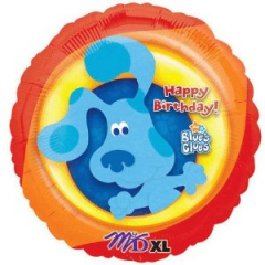 "DiBella Flowers & Gifts Las Vegas - Blues Clues Birthday Mylar 17"" foil Mylar balloon"