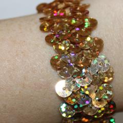 DiBella Flowers & Gifts Las Vegas - Gold Sequins Wristlet
