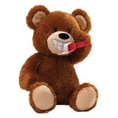 DiBella Flowers & Gifts Las Vegas - Gund Brush Your Teeth Bear Animated Plush
