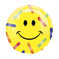 Smiley Face Band-aids Mylar