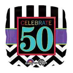 DiBella Flowers & Gifts Las Vegas - Celebrate 50 Mylar