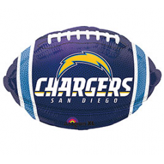 DiBella Flowers & Gifts Las Vegas - Chargers Football Mylar