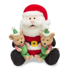 "DiBella Flowers & Gifts Las Vegas - 12"" Santa sings while his elf helpers sway to ""Deck the Halls"" https://youtu.be/nHKnwzQrrRg"