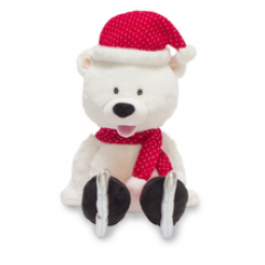 "DiBella Flowers & Gifts Las Vegas - Polar Polly 12"" Polar Bear sings and kicks her feet to ""Winter Wonderland"" https://youtu.be/ihgsDOesEK4"