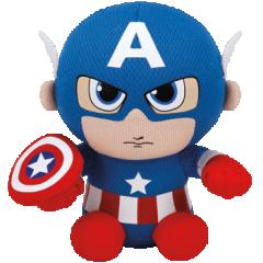Captain America TY Plush