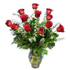 DiBella Flowers & Gifts Las Vegas - Classic Valentine Dozen The perfect dozen! 12 of our premium roses. Please specify color - Red will be sent if no color is chosen Pricing Good 2/1/17- 2/14/17