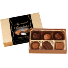 Assorted Milk and Dark Chocolates 2.75oz Petite Box