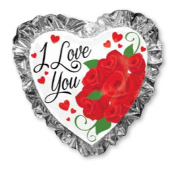 DiBella Flowers & Gifts Las Vegas - Oversized Ruffled Love Mylar 28""