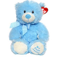 DiBella Flowers & Gifts Las Vegas - Sweet Baby Blue Comes in Small 15 inch