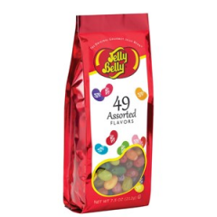 DiBella Flowers & Gifts Las Vegas - 49 Assorted Jelly Bean Flavors Jelly Belly Assorted jelly beans in a 7.5 oz gift bag. 49 flavors. Perfect present for candy lovers. Convenient size bag!
