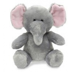 DiBella Flowers & Gifts Las Vegas - Elephant Zoo Animal with sound 8 inches, soft, cuddly and makes elephant noises!