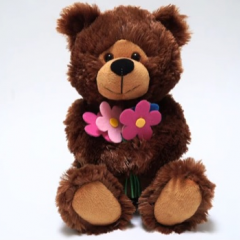 DiBella Flowers & Gifts Las Vegas - Get Well Brown Bear with get well wishes recordings! https://youtu.be/EhU0liF-yfk