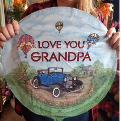 Love You Grandpa Mylar