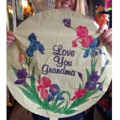 Love You Grandma - Iris Mylar