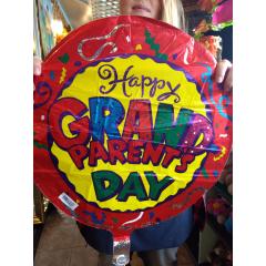 Happy Grandparents Day - Confetti Mylar