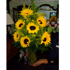 DiBella Flowers & Gifts Las Vegas - A vase of fresh Sunflowers!