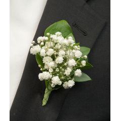 DiBella Flowers & Gifts Las Vegas - Baby's Breath Boutionnere