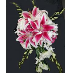 DiBella Flowers & Gifts Las Vegas - The Janette Bouquet! Stargazers & Orchids