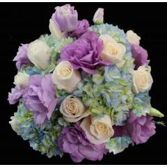 DiBella Flowers & Gifts Las Vegas - Zantana Bouquet! Lavender and Blues Bouquet