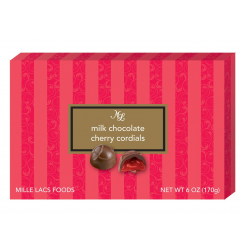 DiBella Flowers & Gifts Las Vegas - Creamy milk chocolate with a sweet cherry syrup in the center. 6 oz. Milk Chocolate Cherry Cordials