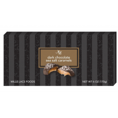DiBella Flowers & Gifts Las Vegas - 6 oz. Dark Chocolate Sea Salt Caramels Delicious dark sea salted chocolate covering thick rich caramel *Shop Favorite!*