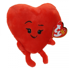"DiBella Flowers & Gifts Las Vegas - From our favorite hit movie, ""The Emoji Movie"", brought to you by Ty Beanie Babies, comes Heart. Standing at 4 inches tall, it is a perfect add on to give to a loved one."