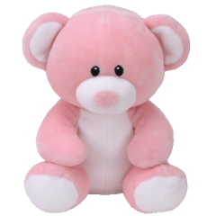 DiBella Flowers & Gifts Las Vegas - Princess Pink Bear available in two sizes! Super soft and squeezable from Ty.