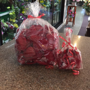 DiBella Flowers & Gifts Las Vegas - Large and small bags available! *Includes one bag.  *Red only