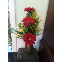DiBella Flowers & Gifts Las Vegas - A perfect little combination of yellows and reds to add a little something to your home or office.