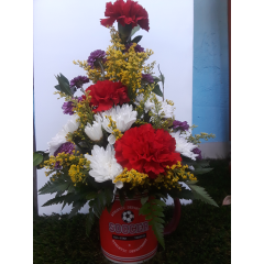 DiBella Flowers & Gifts Las Vegas - A perfect arrangement for the soccer fan in your life!